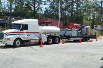 MPE Truck and trailer